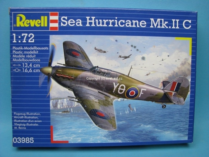 Hawker Sea Hurrikane MK.IIC 1:72 Revell